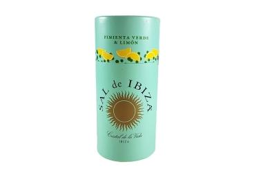 Meersalz mit grünem Pfeffer und Zitrone - Sal de Ibiza